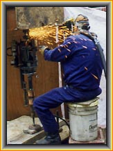 Welding Process Using High Alloy Electrode
